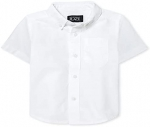 The Children's Place Baby Boys and Toddler Boys Short Sleeve Oxford Button Down Shirt