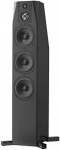 NHT C Series C 4 Premium Home Theater 3-Way Floor-standing Tower Speaker - Clean, Hi-Res Audio | Sealed Box | Aluminum Drivers | Single, High Gloss Black (N-C 4 Black)