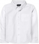 The Children's Place Boys Long Sleeve Oxford Shirt