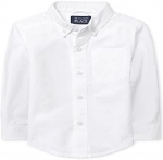 The Children's Place Baby Boys and Toddler Boys Long Sleeve Oxford Button Down Shirt