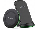 Yootech Wireless Charging Pad Stand Bundle [2 Pack] for Home Office