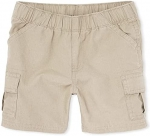 The Children's Place Baby Single and Toddler Boys Pull on Cargo Shorts
