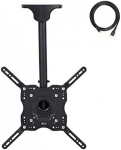 Amazon Basics Ceiling TV Mount for 24-65 inch TVs up to 100 lbs, max VISA 400x400